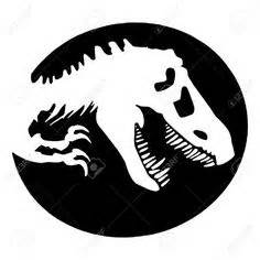 Autoaufkleber Jurassic Park by Bildergebnis F 252 R Dino Kopf Silhouette Siebdruck