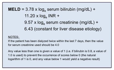 Sauna Detox For Primary Biliary Cirrhosis by Meld Score Calculation Model For End Stage Liver Disease