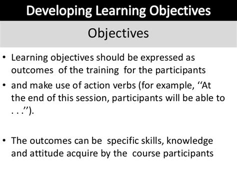 Course Objectives And Outcomes Mba by Module 2a Lesson Plan Basic Skills