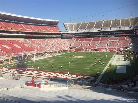 bryant denny stadium student section bryant denny stadium section s2 rateyourseats com