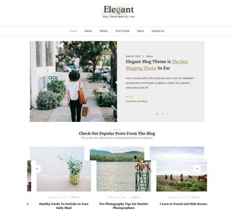 Theme Blog Elegant | 50 best minimalist wordpress themes templates design