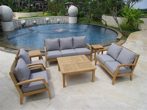 unique wooden deep seating outdoor furniture all home