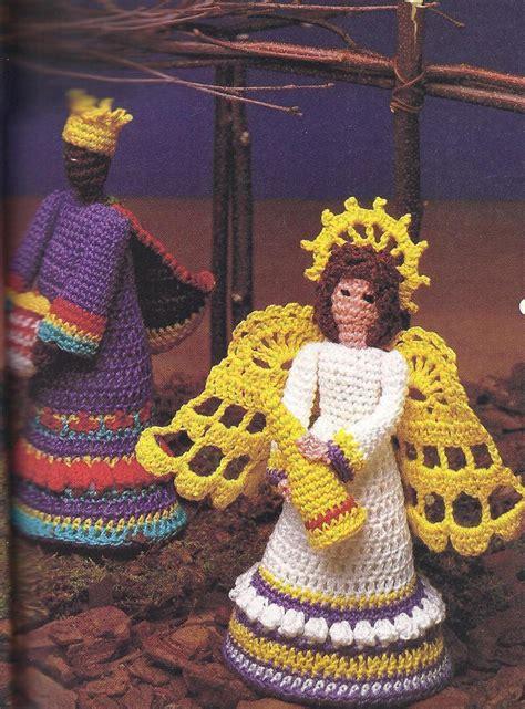 amigurumi nativity pattern folk art nativity creche crochet pattern rare htf holiday