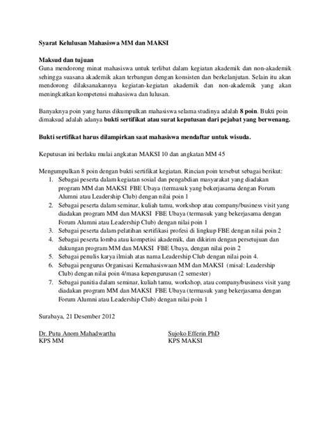 syarat membuka rekening bca untuk mahasiswa syarat kelulusan mahasiswa magister management dan maksi ubaya