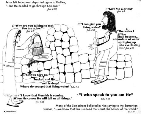 preschool coloring pages woman at the well 17 best images about the woman at the well on pinterest