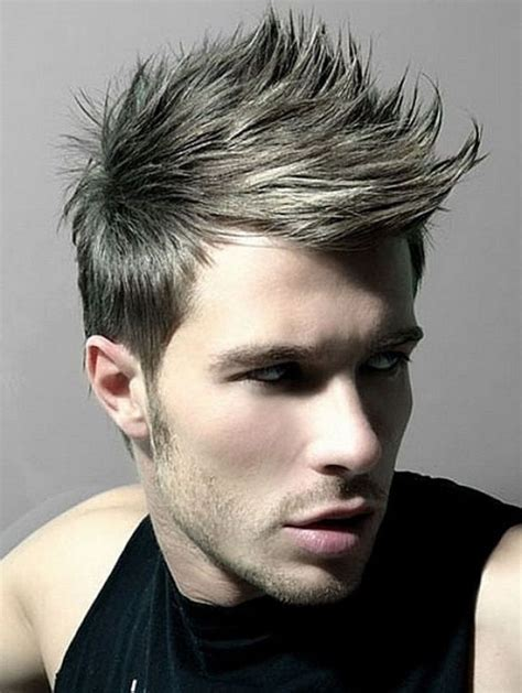 spiked hair with long bangs 28 best spiky haircuts for men images on pinterest