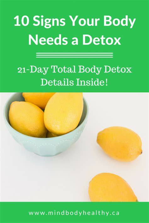 Can Someone Detox From At Home by 10 Signs Your Needs A Detox Mind Healthy