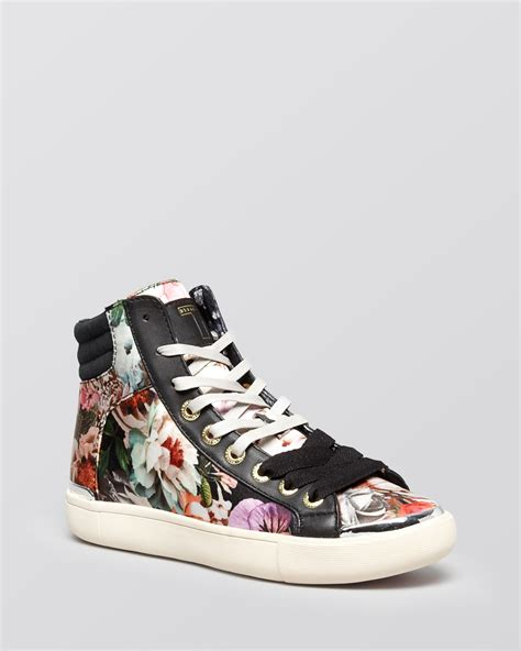 high top lace up sneakers ted baker lace up high top sneakers merip 2 lyst