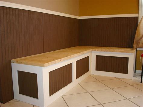 bench breakfast nook breakfast nook bench by captferd lumberjocks com