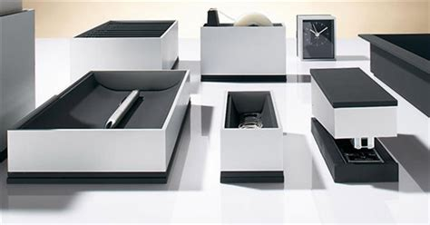 foster series desk accessories cool material