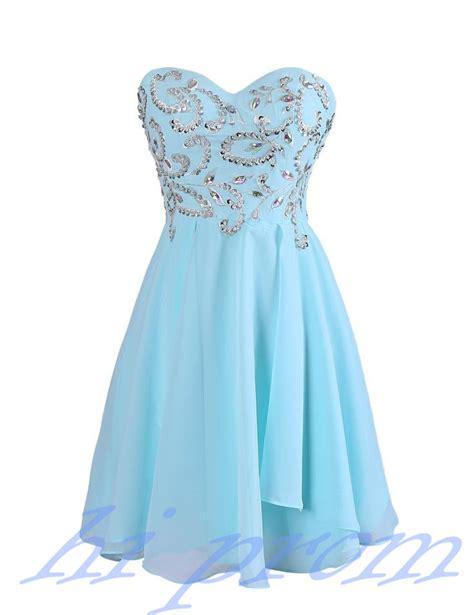blue homecoming dresschiffon homecoming dressessimple