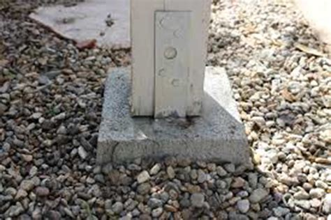 install l post concrete the how to guide for mounting pergolas to any surface