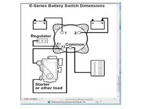wiring a battery switch the hull boating and fishing forum