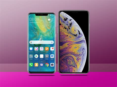 iphone v huawei huawei mate 20 pro vs apple iphone xs max which is best stuff