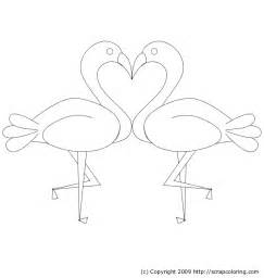 pink flamingo coloring page free coloring pages of a pink flamingo