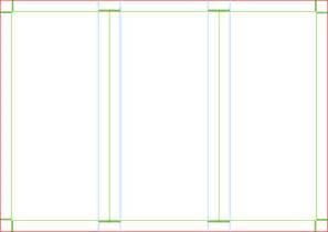 trifold brochure template clip art at clker com vector