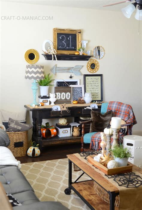 home decor 2015 halloween 2015 home tour decor craft o maniac