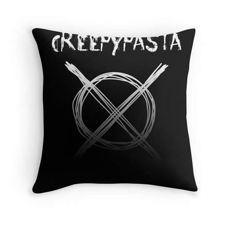 pillow proxy creepypasta throw pillows products creepypasta creepy