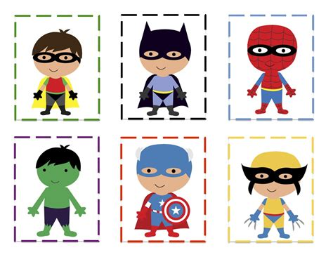 printable heroes preschool printables october 2012