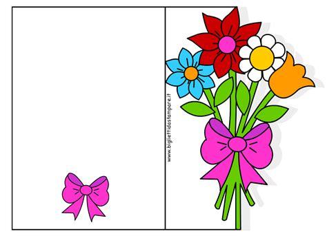 biglietti con fiori biglietti di auguri per la festa della mamma con fiori