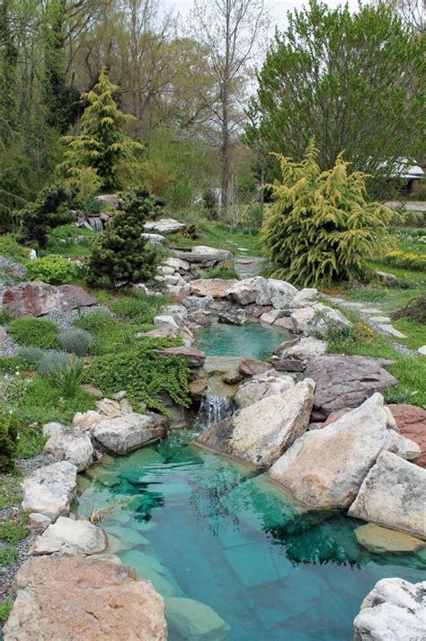 Wasserfälle Im Garten 1281 by Teich Mit Bachlauf Im Garten Anlegen Tipps Und Ideen