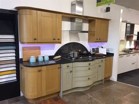 Used Kitchen Worktops For Sale by Rrp 163 5500 Broadoak Second Nature Ex Display Kitchen