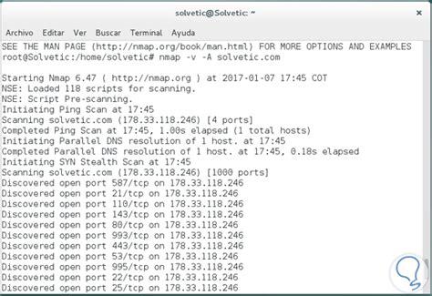 tutorial completo de nmap c 243 mo encontrar y ver puertos abiertos en sistemas linux