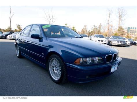 2003 bmw 530i 2003 topaz blue metallic bmw 5 series 530i sedan 26881329