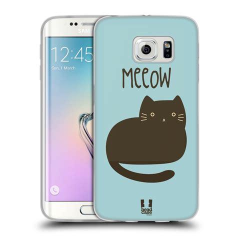 Imak Soft Samsung Galaxy S6 Edge G925 Cover cats silicone gel for samsung galaxy