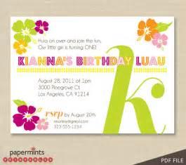 printable luau birthday invitations 2 printable hawaiian luau invitation by papermintsprintables