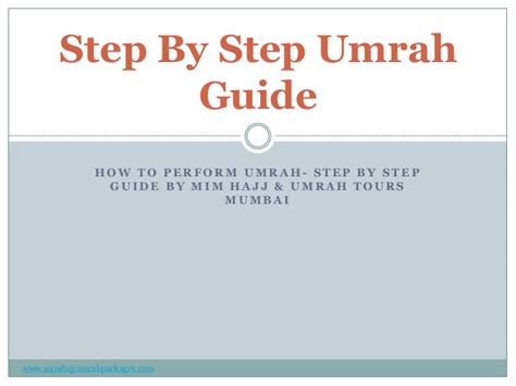 a step by step guide to a for 5k you will make your books step by step umrah guide and the procedure of umrah