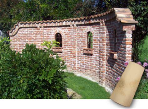 Klinker Mauern Im Garten by Coppo Sardo Mauerabdeckung F 252 R Gartenmauern Sch 246 Ne Farben