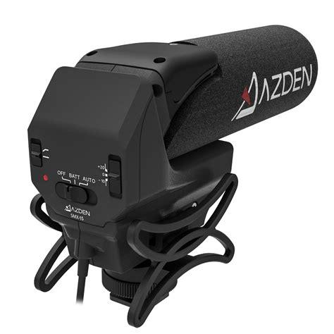 Azden Smx 30 1 Year Garansi Resmi smx 15 powered shotgun microphone azden
