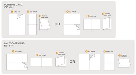 What Size Is A4 Paper Folded In Half - card invitation design ideas personalized business