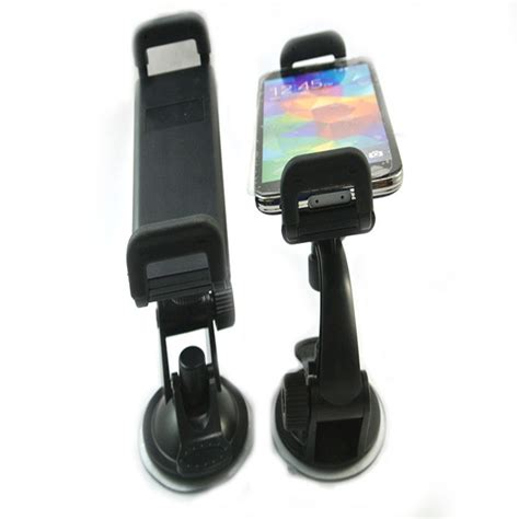 Murah Mobile Phone Car Holder 8 Suction 200 x universal car phone holder windshield dashboard suction cup holder stand for iphone 4 5