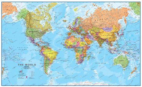 on a world map weltkarte map of world map