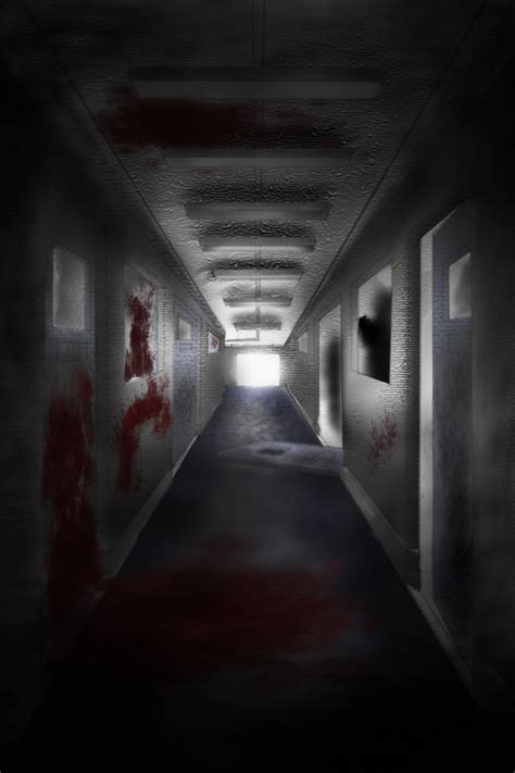Or Scary Scary Corridor By Joshwattsart On Deviantart