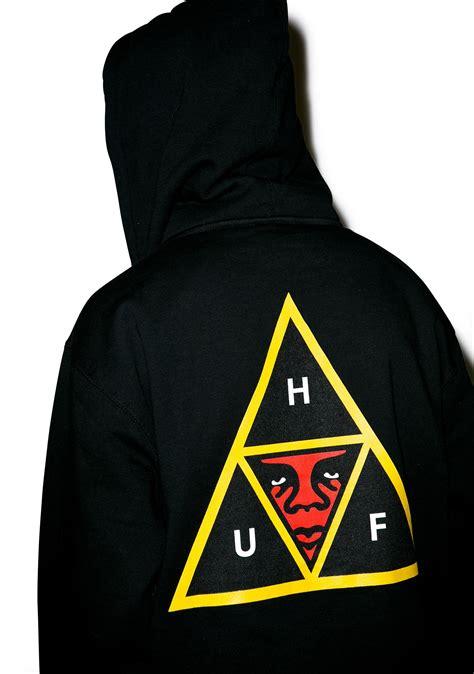 Huf X Huf huf huf x obey icon zip hoodie dolls kill