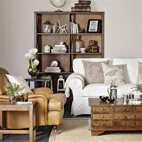 how to mix and match furniture for living room neutral living room with leather armchair great schemes