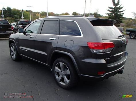 granite jeep grand cherokee 2014 jeep grand cherokee overland 4x4 in granite crystal
