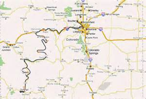 map of aspen colorado road in colorado taking a rebuilt land cruiser from