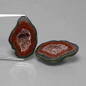 Mexican Agate 4 2ct 29 2ct multicolor agate geode gems from mexico and