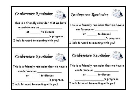 parent consent form template parent teacher conference form