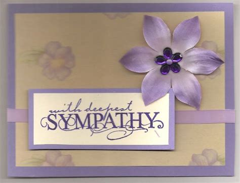 Handmade Sympathy Card Ideas - handmade sympathy card card ideas