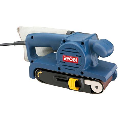 ryobi reconditioned 5 3 3 in x 18 in belt sander