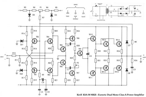 Power Lifier Nad schematic krell ksa 100s get free image about wiring diagram