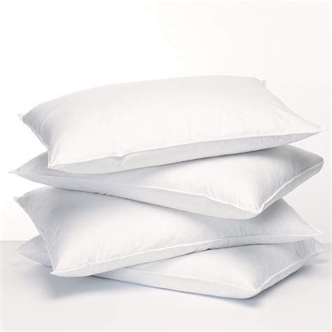 Pillow Allergies Symptoms by Fill Feather Fresh Boilable Pillows For Asthma