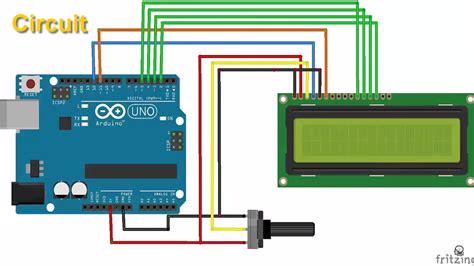 tutorial arduino display lcd arduino tutorial lcd display arduino project hub