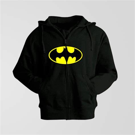 Hoodie Zipper Anak Batman Custom black fleece batman zipper hoodie thestore pk