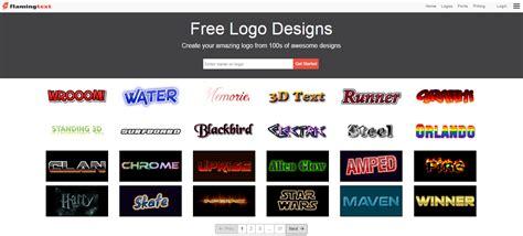 situs desain logo gratis 6 situs terbaik membuat logo online gratis belajar